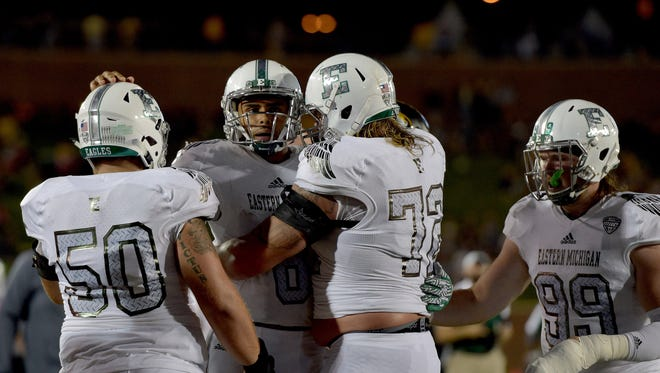 The Eastern Michigan Eagles are headed to a bowl game.