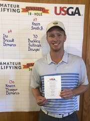 White Lake's Jake Kneen qualified for the U.S. Amateur