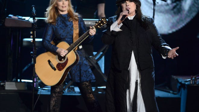 Gonna go crazy on you: Heart — with Nancy (left) and Ann Wilson — will play the Fox Cities PAC Sunday night.