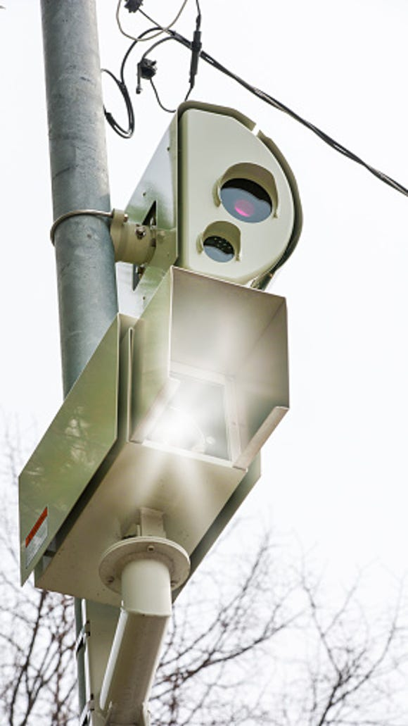 Red Light photo enforcement camera