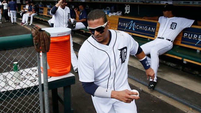 Tigers DH/first baseman Victor Martinez