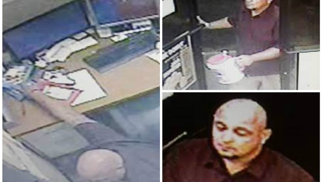 The identity of this man, suspected in the theft of empty deposit envelopes at the Circle K in North Fort Myers, is being sought by Crime Stoppers of Southwest Florida,.