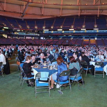 Dine with your favorites at Tropicana Field