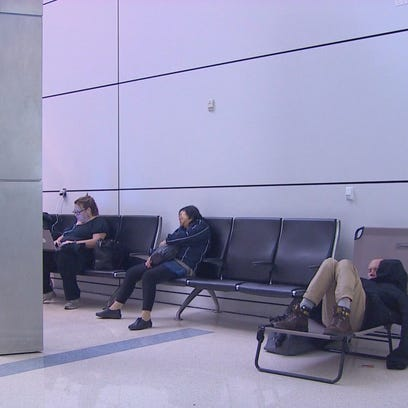 Passengers say winter weather caused lots of cancellations and major frustrations at D/FW Airport.