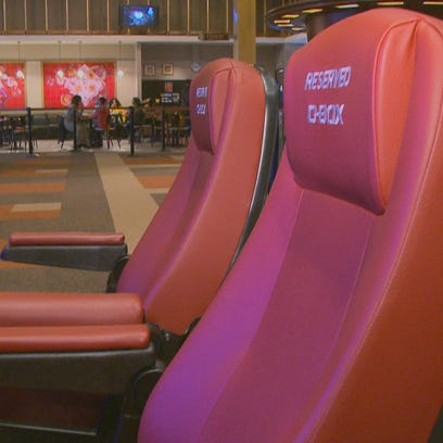 Movie magic: These new theater seats will rock your world — literally