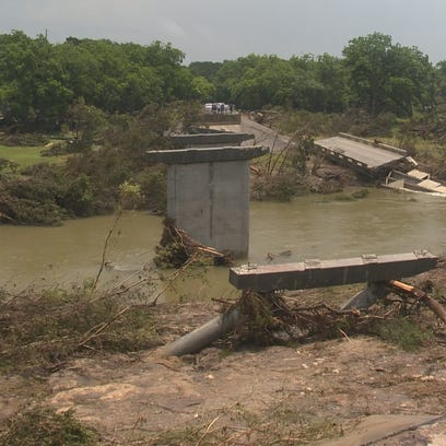 Most bridges damaged in flooding are not state-owned