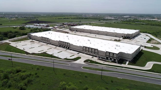 Amazon signed a lease for more than 300,000 square feet in the Kyle Crossing Business Park, where it plans to open a sorting center later this year that is expected to employ more than 200 people.