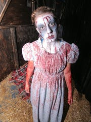 A haunted house entitled MED EVIL is presented at the