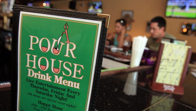 Pour House Bar and Grill on Main Street in Nyack