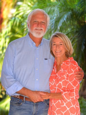 Jim and Jonnie Swann of Merritt Island, Florida Today's first Legacy Award recipients.