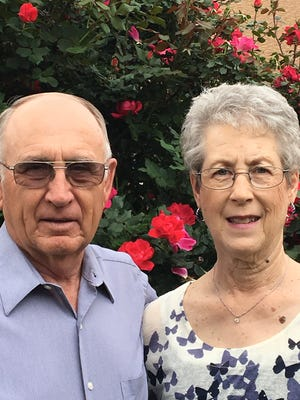 Mr. and Mrs. Darrell Rogers of San Angelo celebrated their 50th wedding anniversary on Sept. 9.