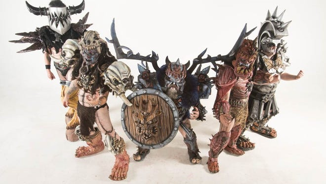 Gwar, a heavy metal and hardcore punk band, was formed in 1984 in Richmond, Va. Its shows are built  around a scu-fi themed mythology that portrays the band members as barbaric interplanetary warriors.