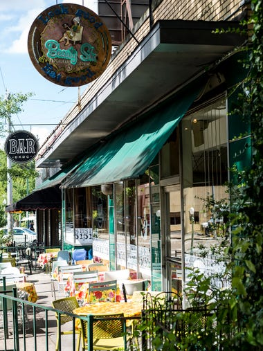 June 29, 2017 - The Beauty Shop, a restaurant in Cooper