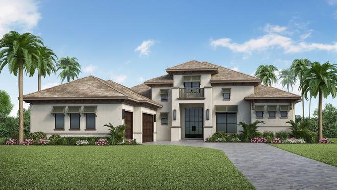 Clive Daniel Home will provide interior design for Stock's Gardenia II model in Pine Ridge Estates.