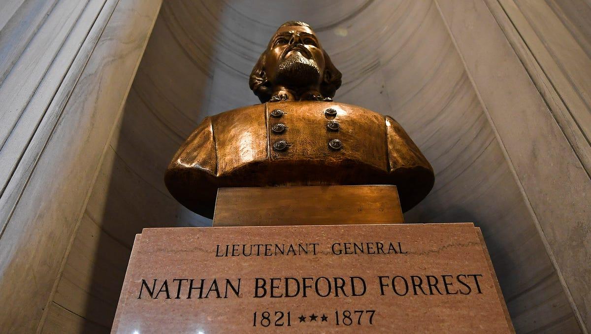 Image result for nathan bedford forrest bust