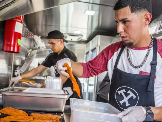 Brothers Luis, right, and Gabriel Trejo opened Taco