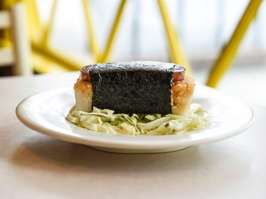 Spam musubi (spam sushi)