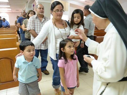 Ash Wednesday marks the start of the Lenten season for Catholics world wide. In Guam, many families come together to strengthen their faith and their bond by practicing self sacrifice such as abstaining from eating meat.
