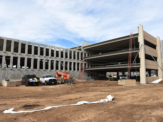 Construction continues the new Colorado State University