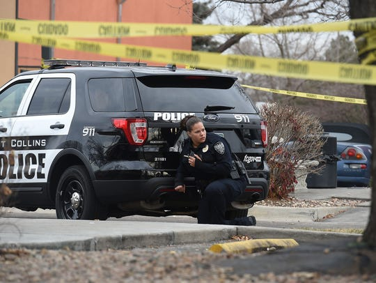 Fort Collins police, SWAT, the Larimer County Sheriff's Office and the Colorado State University Police Department responded to reports of a woman in the Kmart parking lot with a pistol  in this file photo from 2015.
