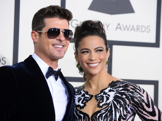AP PEOPLE-ROBIN THICKE A ENT FILE USA CA