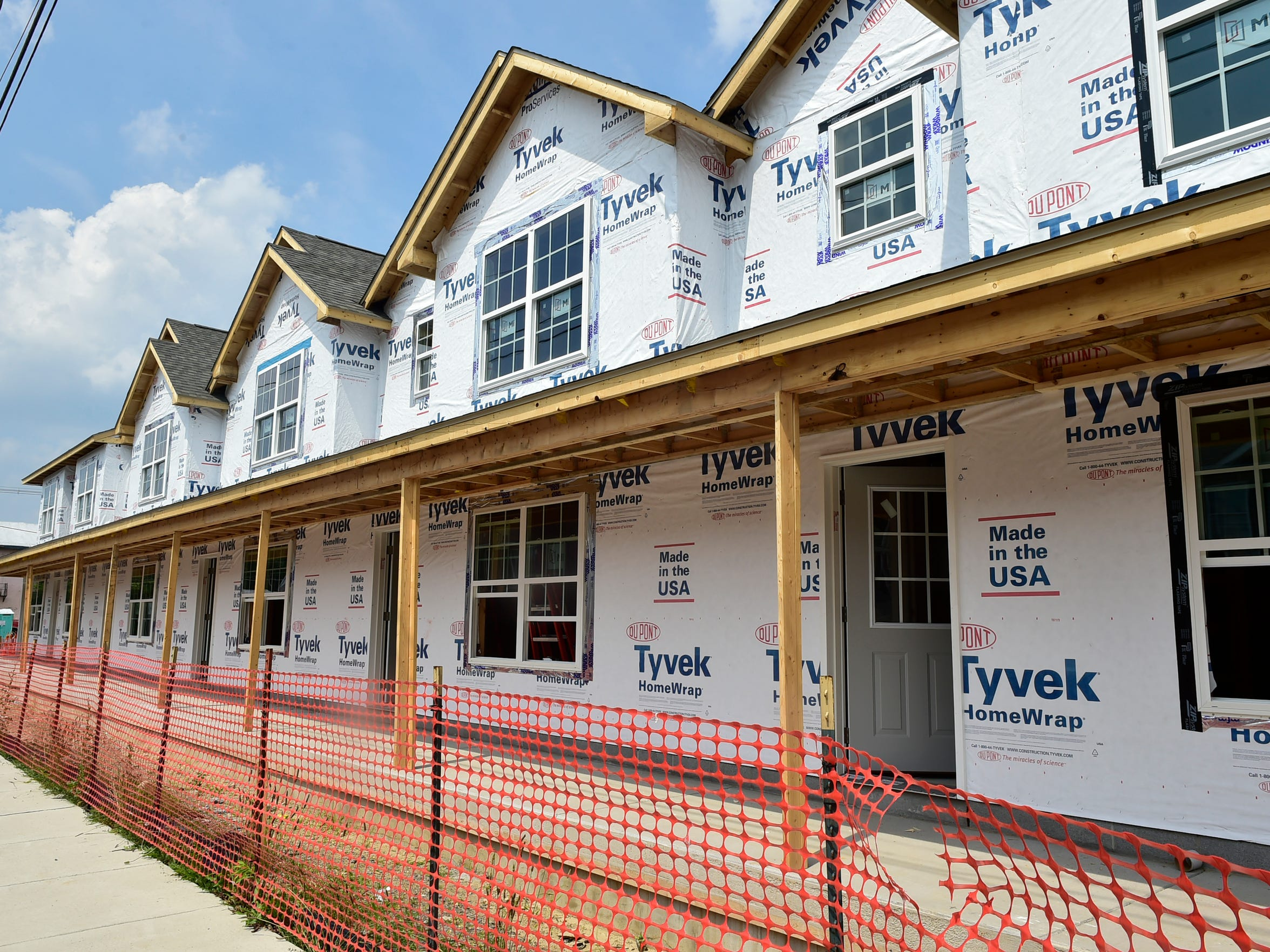 Gandy Manor Townhomes were under construction on Thursday, July 20, 2017 in Shippensburg.