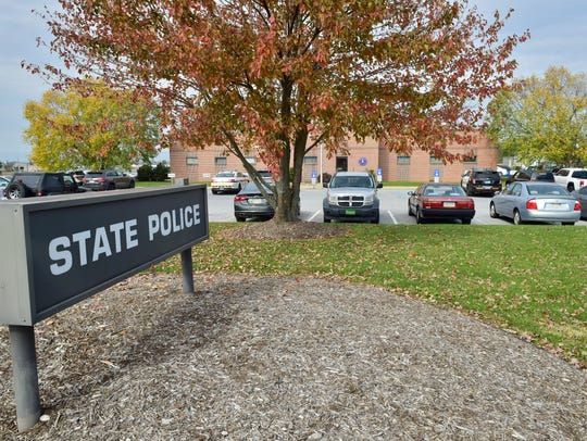 The current Pennsylvania State Police, Chambersburg, barracks is located on Franklin Farm Lane, Guilford Township. State police will move to a new location on Black Gap Road in Scotland in fall 2018.