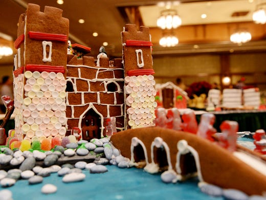 The 25th Annual Gingerbread House Competition Was Held