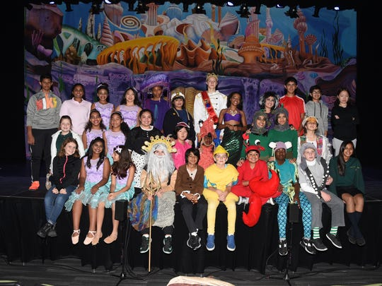 Bravo to the W+H Middle School students for entertaining the audience with two fantastic performances in The Little Mermaid Jr. in the new Berry Performing Arts Center.
