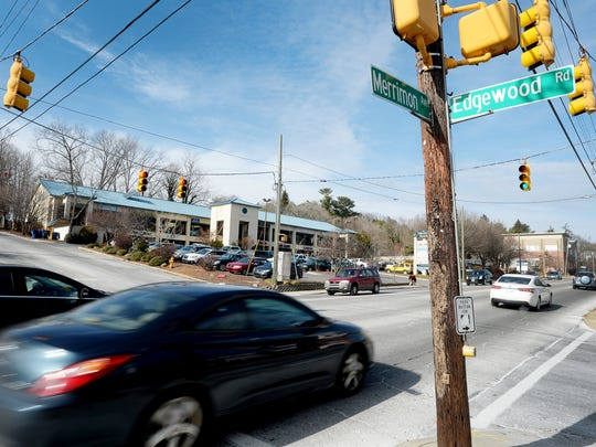 The state Department of Transportation proposes adding a center turn lane to Merrimon Avenue from Weaver Boulevard to a point about 600 feet north of Edgewood, near the entrances to Autobell Car Wash and Asheville Pizza &Brewing Co.