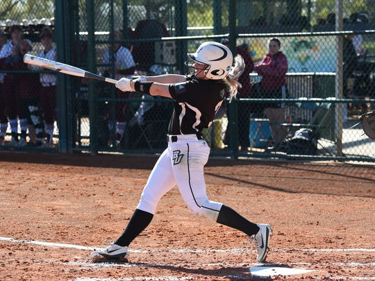 Horseheads High graduate Jessica Rutherford finished her college career with the highest batting average in Binghamton University history.