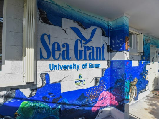The new University of Guam Sea Grant Program headquarters,