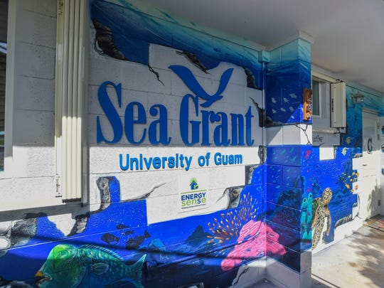 The new University of Guam Sea Grant Program headquarters, located at House 25 in the UOG Dean's Circle on June 18, 2018.