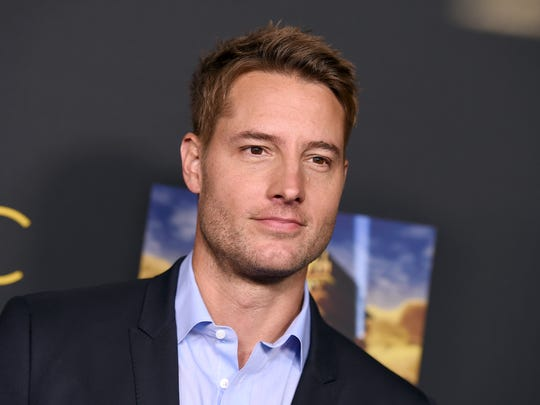Cast member Justin Hartley arrives at An Evening With