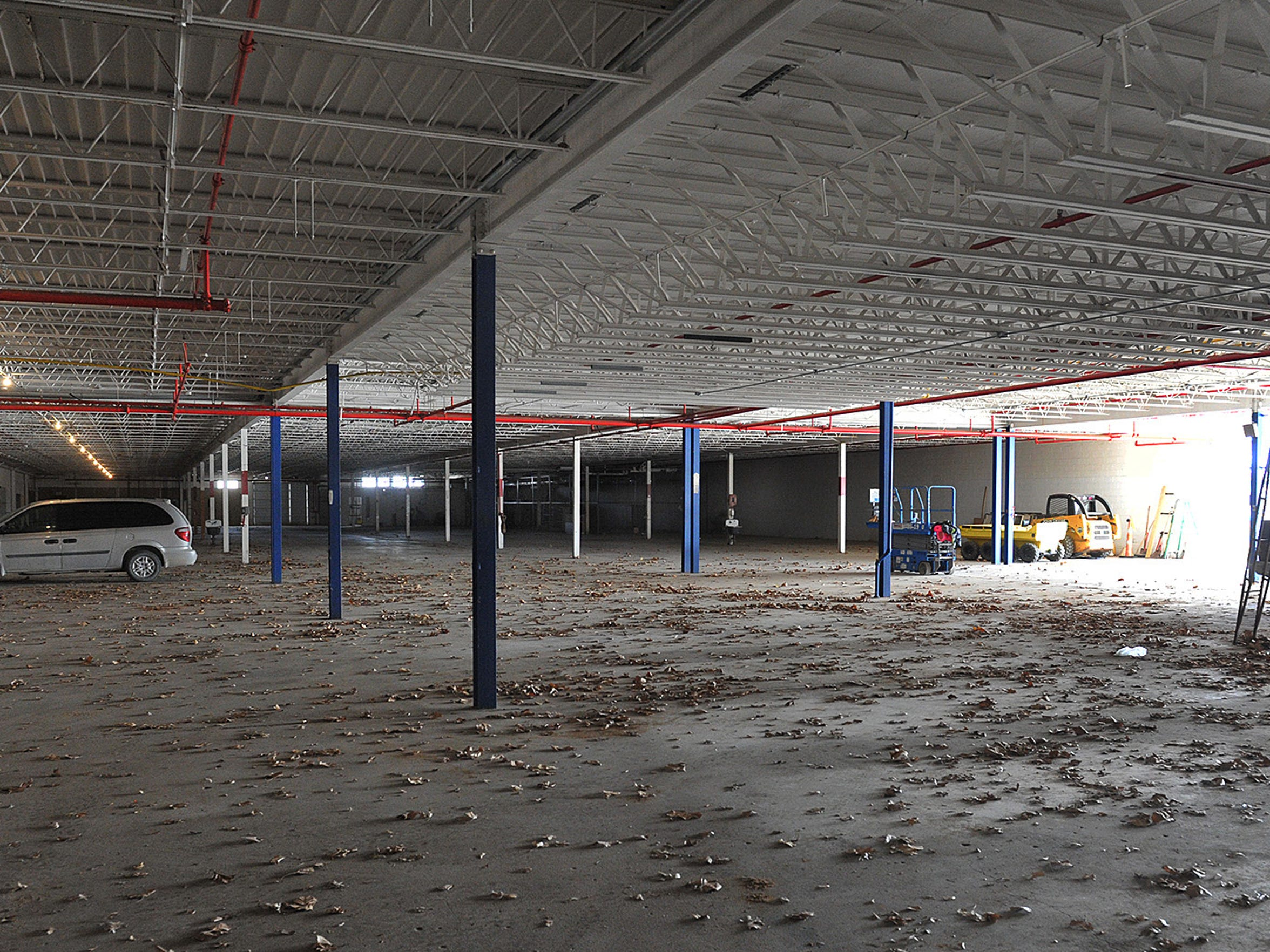 Part of the former Nocona Boot Co. building, a 106,000-square-foot