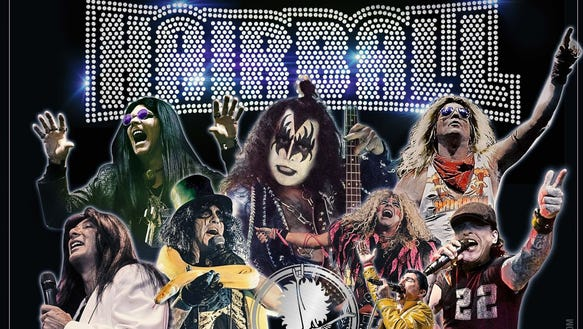 Hairball is returning to the Sioux Empire Fair on Sunday,