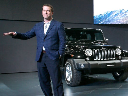 FCA shakes up leadership of Jeep, Ram brands