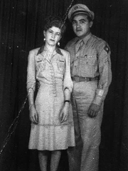 Antonio Cardenas is pictured with his wife, Cande.