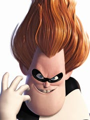 "Syndrome as voiced by Jason Lee in ""The Incredibles."""