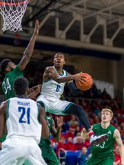 Brandon Goodwin is easily FGCU's all-time leader in career points per game at 18.5.