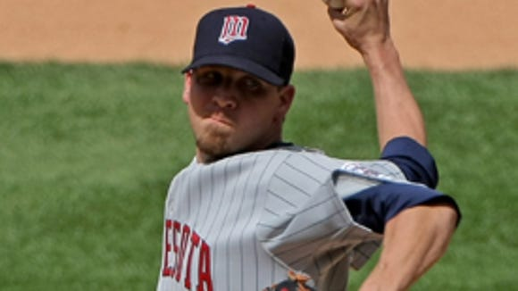 For the second time in five months, the Minnesota Twins have designated pitcher Matt Guerrier for assignment.