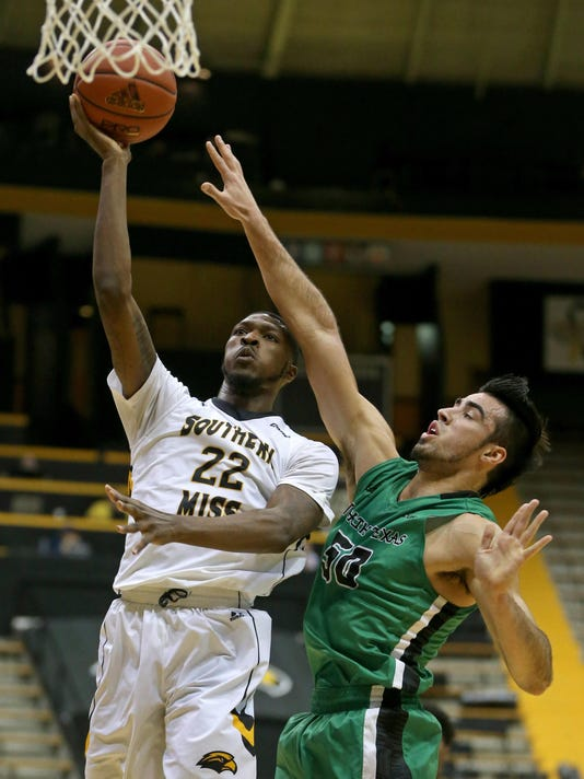 NCAA Basketball: North Texas at Southern Mississippi