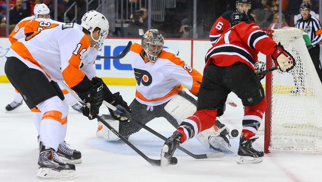 The New Jersey Devils remain the only team Steve Mason hasn't beaten in his career.