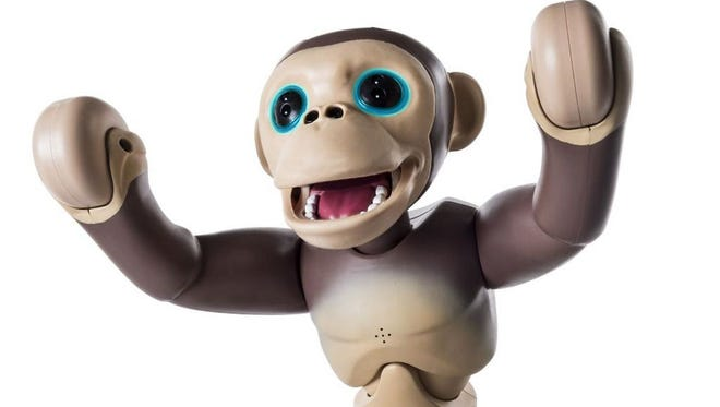 Zoomer Chimp is one of the latest in the line of Zoomer robotic pets from Spin Master. All the fun, none of the cleanup.