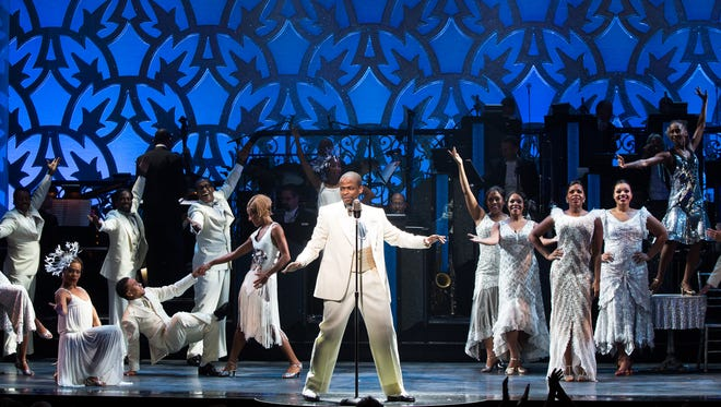 Dule Hill and the cast of Broadway's AFTER MIDNIGHT perform.