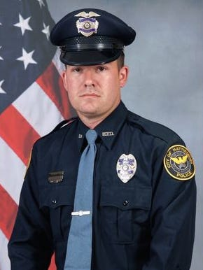 Hattiesburg police officer Benjamin J. Deen
