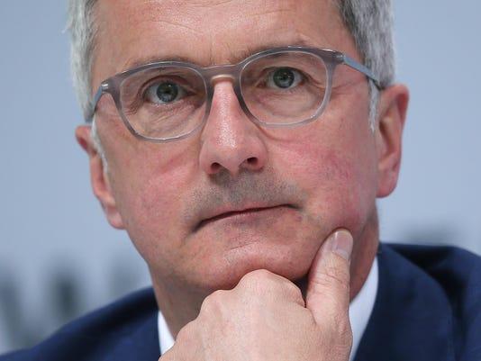 FILE PHOTO: Audi chief Rupert Stadler arrested in diesel emissions probe