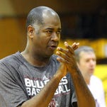 Mississippi State assistant basketball coach George Brooks remains on staff at the school under Ben Howland.