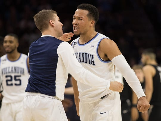 Villanova junior guard Jalen Brunson hasn't put up