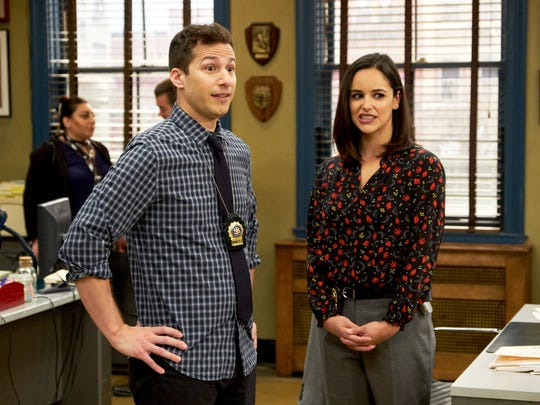 """Brooklyn Nine-Nine"" (NBC): The ensemble comedy about a Brooklyn police precinct, which includes Andy Samberg and Melissa Fumero, will finish its run on NBC after five seasons on Fox."